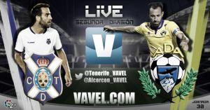 Resultado Tenerife - Alcorcón en Segunda División 2015 (1-1)