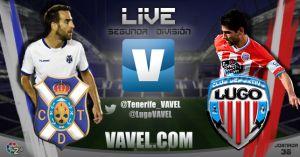 CD Tenerife - CD Lugo en directo online en Segunda División 2015