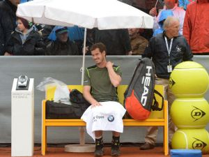 Rain, Rain Go Away, Why Won't You Let Murray Play?
