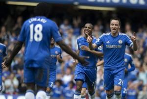 Chelsea beat Blackburn to end Premiership campaign on a high