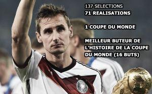 Miroslav Klose rend les armes de la Mannschaft