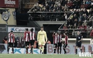 El Athletic vence en El Madrigal y se clasifica para cuartos