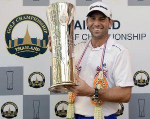 Sergio García despide el año con una gran victoria en Tailandia