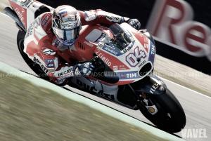 """Andrea Dovizioso: """"Creo que es la mejor Ducati que he rodado"""""""