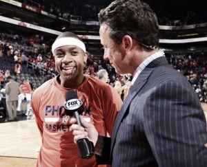 """Isaiah Thomas: """"No esperaba jugar estos minutos cuando vine a Phoenix"""""""