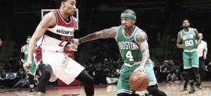 Los Celtics sonrojan a unos desacertados Wizards