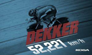 Dekker se queda a las puertas del Récord de la Hora