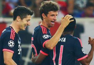 Champions, il Bayern non fa sconti