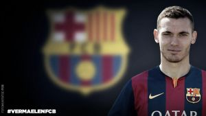 Thomas Vermaelen signs for Barcelona