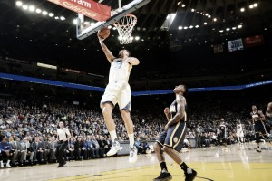 Klay Thompson's career night lead the Golden State Warriors to huge win over Indiana Pacers