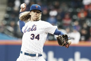 Syndergaard strikes out 10, Cespedes drives in three as Mets top Cardinals on Opening Day