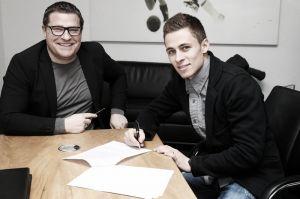Thorgan Hazard firma por el Borussia Monchengladbach