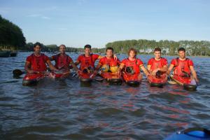 Arranca el Mundial de Kayak-polo con victorias para los chicos de España