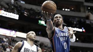 Los Thunder vencen en Dallas en un partido marcado por las lesiones de hombres importantes