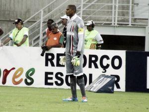Tiago Cardoso faz treinamento com bola, mas só deve atuar pelo Santa Cruz na Série B