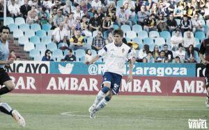 Álvaro Tierno debuta con el Real Zaragoza