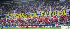 El Vicente Calderón está a la altura de la Champions League