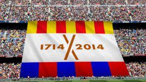 El Barça prepara un 'tifo' para conmemorar el Tricentenari