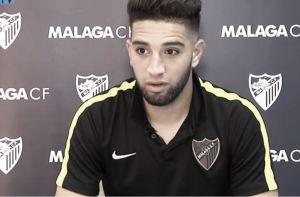 Tighadouini fue elegido MVP del Málaga-Deportivo