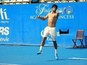 Miguel Reyes Varela y Tigre Hank van por el campanazo en el Abierto Mexicano de Tenis
