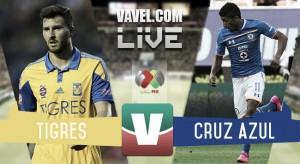 Resultado Tigres vs Cruz Azul en Liga MX 2015 (0-0)