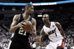 """Tim Duncan: """"Estamos felices de que la final sea contra Miami otra vez"""""""