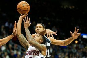 Hawks Defeat Spurs 117-107 In Preseason Finale