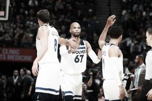 Wolves se aprovechan de unos apagados Spurs