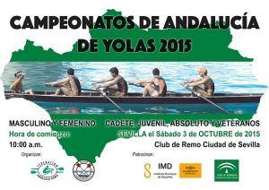 Nueva temporada de remo con el Campeonato de Andalucía de Yolas