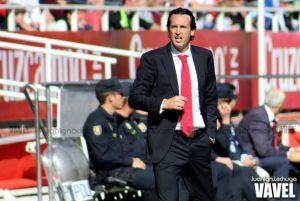 """Emery: """"Sin estar contento, me alegro por las cosas que veo al equipo"""""""