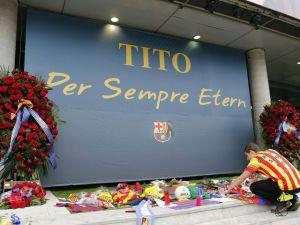 Barcelona v Getafe - Nou Camp prepares for final goodbye to Tito