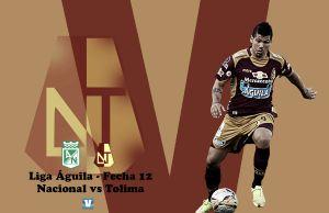 Nacional vs Tolima: duelo 210 entre 'pijaos' y 'verdolagas'