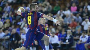 El Barça arrasa al Benidorm tras el descanso