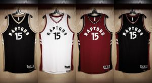 Más Canadá en los nuevos uniformes de los Raptors