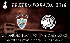 Previa Atlético Tordesillas - Unionistas: primer amistoso para coger minutos