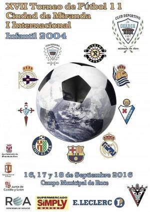 En marcha el XVII torneo infantil Ciudad de Miranda