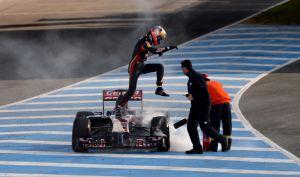 Renault podría haber realizado un test secreto junto a Toro Rosso antes de Australia
