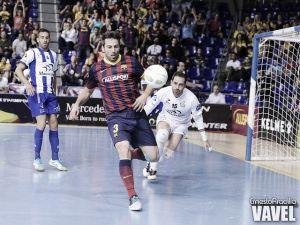 El FC Barcelona Alusport, con paso firme
