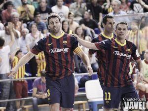 El FC Barcelona Alusport golpea primero