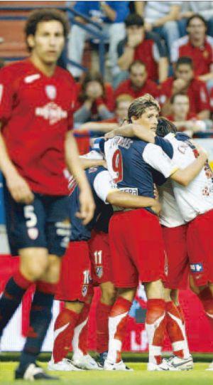 El último partido, y días, de Fernando Torres con el Atlético de Madrid