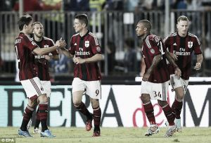 Torres look: A goal on his first start for Milan