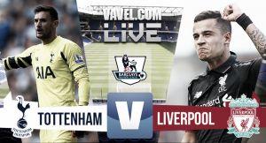 Score Tottenham Hotspur 0-0 Liverpool in EPL 2015