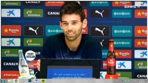 """Víctor Álvarez: """"Nos tenemos que adaptar a salir desde atrás con el balón"""""""