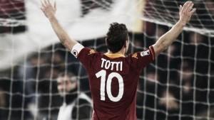 Totti Climbing the Ladder