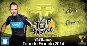 Favoritos al Tour de Francia: Chris Froome quiere reinar de nuevo