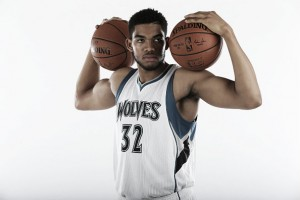 Karl-Anthony Towns, listo para dominar la NBA