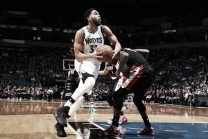 Em partida disputada, Timberwolves vencem e quebram sequência de vitórias dos Blazers