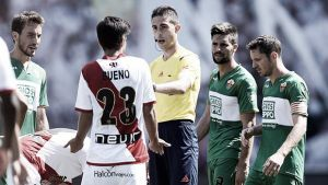 Iñaki Vicandi, árbitro para el Getafe - Barcelona