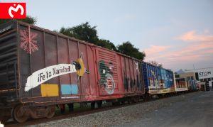 Monarcas se sube al Tren Navideño