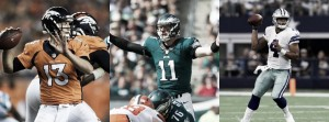 Recapping Trevor Siemian, Carson Wentz and Dak Prescott following their first NFL throws